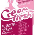 Cream Fresh - 26.11. Plakat